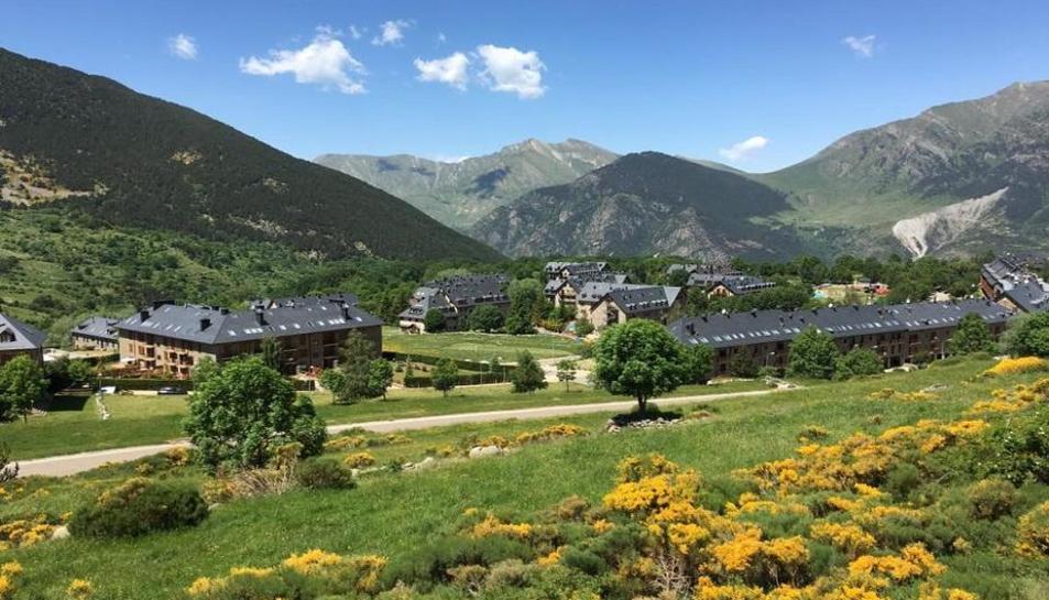Imatge d'arxiu del Pla de l'Ermita, a la Vall de Boí.