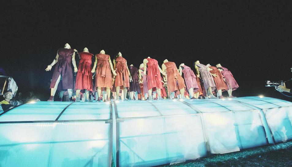 Espectáculo 'Power of Diversity', de la compañía alemana Pan.Optikum, que también apoyó la UE.