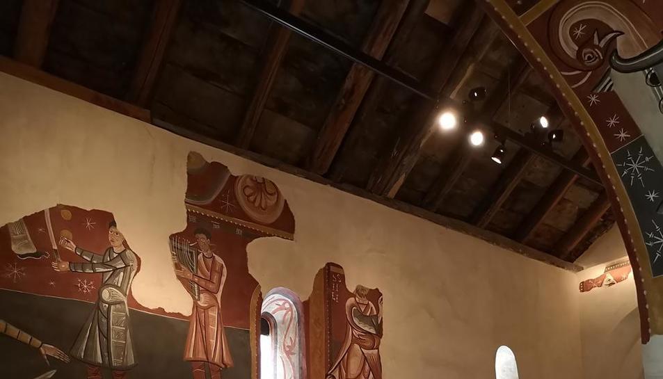 Visita 'musical' el domingo en Sant Joan de Boí y concierto el sábado en Santa Maria de Taüll.