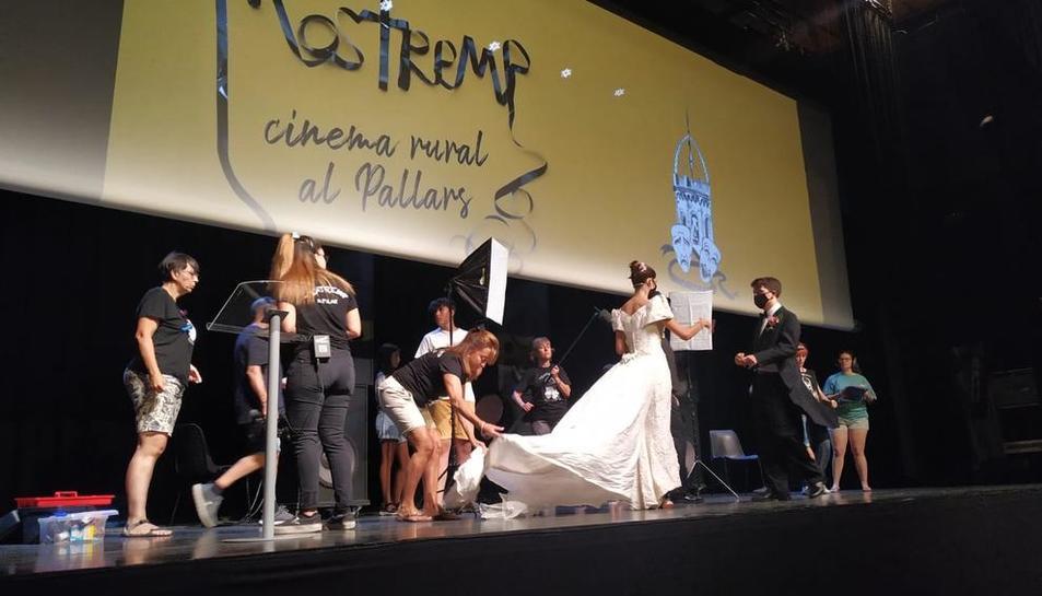 La companyia Teatremp va obrir ahir amb teatre el festival Mostremp.