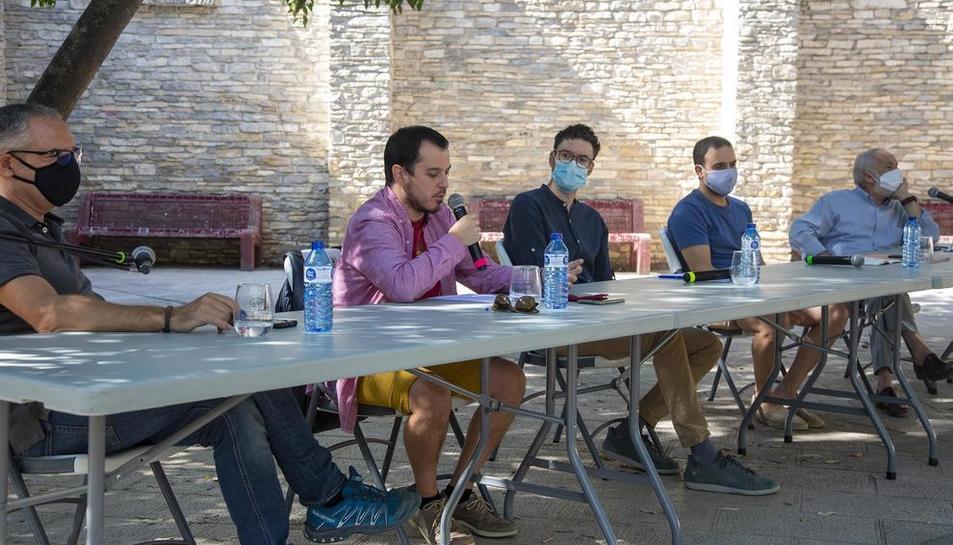 El debat, que formava part de les Festes de Setembre, va tenir lloc ahir al migdia a La Soll.