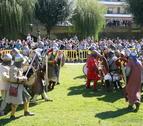 La batalla campal volvió a ser uno de los actos que congregó a más público.