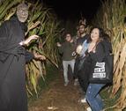 Uno de los zombis que se encontraron los atrevidos participantes.