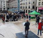 Acte de campanya de Vox a Lleida, amb Santiago Abascal