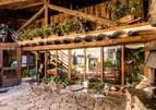 La terrassa del Restaurant Brasseria de l'Era del Marxant, ens convida a relaxar-nos envoltats d'un entorn idílic.
