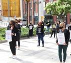 Imatge d'arxiu d'una protesta del sector a Lleida.