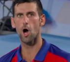 Djokovic perd els nervis en un partit i Twitter li recrimina el que li va dir a Biles