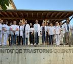 Fotografia de grup dels professionals de la Unitat de Trastorns Cognitius de l'Hospital Universitari Santa Maria de Lleida.