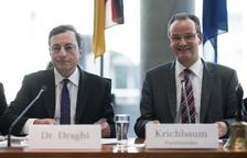 Draghi defiende la política del BCE ante el Parlamento alemán