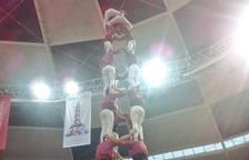 Los Castellers de Lleida logran el segundo '4 de 8' de la temporada