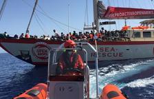 Film solidario en JCA Alpicat con el rescate de refugiados en el mar