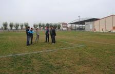Inicien les obres del camp de futbol a Linyola