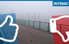 Juego. ¿Nos gusta la niebla a los leridanos?
