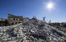 El terratrèmol d'Itàlia va desplaçar el terra diversos centímetres, segons l'ESA