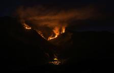 El incendio de La Guingueta d'Àneu, controlado al séptimo día