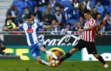 Pocas ocasiones y reparto de puntos en el Espanyol-Athletic