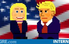 Juego: ¿Eres más próximo a Trump o Clinton?
