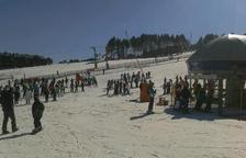 Port del Comte prevé abrir por la Purísima y llegar a 80.000 esquiadores