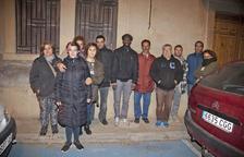 Protestes per una família sense electricitat a Vilagrassa