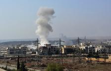 Set nens morts i un total de vint ferits en l'atac a una escola siriana d'Alep