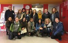 Docentes europeos visitan el colegio Alfred Potrony
