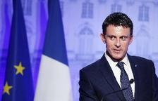 El primer ministre gal, Manuel Valls, en un acte divendres passat a París.