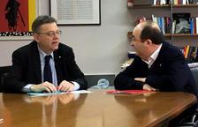 Puig i Iceta demanen iniciar la reforma de la Constitució