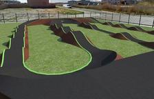 Nuevo circuito de 'pump track'  en Alpicat