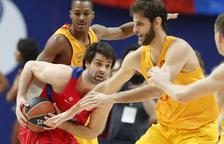 El Barcelona no aixeca el cap i encaixa una altra derrota davant del CSKA