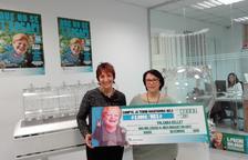 Una veïna de Lleida guanya el premi de 2.000 euros al mes de La Grossa de Cap d'Any