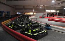 Alpicat estrena mañana el karting 'indoor' con 30 vehículos y un bar temático del motor