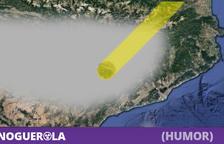 Un millón de leridanos se concentrarán en Lleida para soplar todos al mismo tiempo y despejar la niebla