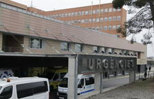 Urgències de l'Arnau registra aquests dies una major afluència de pacients per afeccions respiratòries.