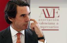 Aznar carrega contra Rajoy