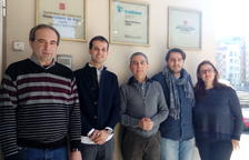 Miquel Alsedà, Josep Montserrat, Pere Godoy, Josep Ramon Marsal i Marta Ortega.