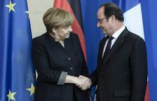 Merkel y Hollande apelan a la unidad para que la UE supere sus desafíos