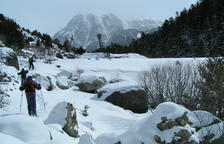 Éxito de los senderos para raquetas de nieve en La Vall de Boí