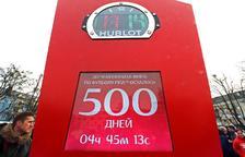 Faltan 500 días para el Mundial de Rusia