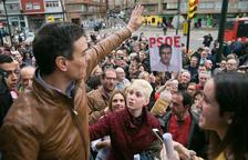 Sánchez reclama un PSOE que sigui alternativa al PP
