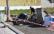 Reparación y mantenimiento en varias calles de Les Borges