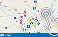 Mapa de locals 'kid friendly' a la província de Lleida