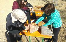 Voluntarios restauran cajas nido en Alinyà