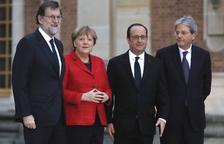 París, Berlín, Madrid i Roma advoquen per una UE a diverses velocitats
