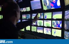 Espectacular realització en directe dels gols del Barça