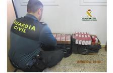 Intervinguts 480 paquets de tabac de contraban