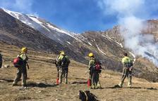 Quemas y limpiezas en La Vall de Boí para que 3.000 animales tengan pastos