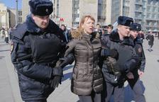 Detenen a Moscou el líder opositor rus Aleksei Navalni