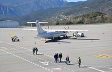 La Seu prova un sistema pioner d'aterratge d'avions amb GPS