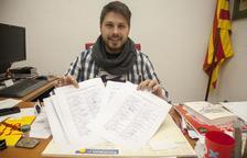 La Fuliola recull 250 firmes de veïns contra els microtalls elèctrics