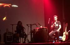 Pau Donés 'assaja' a Vielha la gira americana de Jarabe de Palo